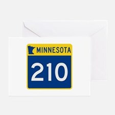Trunk Highway 210, Minne Greeting Cards (Pk of 10)