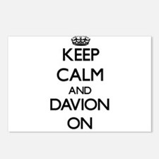 Keep Calm and Davion ON Postcards (Package of 8)