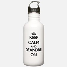 Keep Calm and Deandre Water Bottle