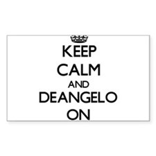 Keep Calm and Deangelo ON Decal
