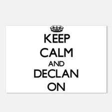 Keep Calm and Declan ON Postcards (Package of 8)