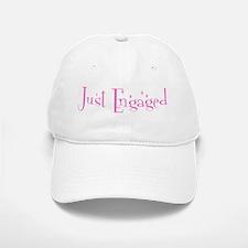 Just Engaged Baseball Baseball Cap