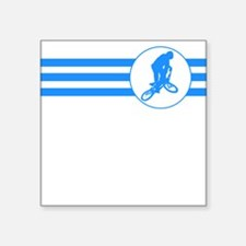 BMX Biker Stripes (Blue) Sticker