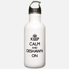Keep Calm and Deshawn Water Bottle