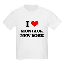 I love Montauk New York T-Shirt