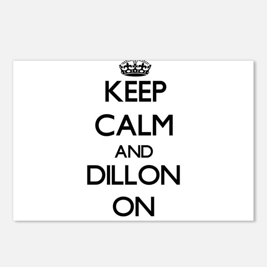 Keep Calm and Dillon ON Postcards (Package of 8)
