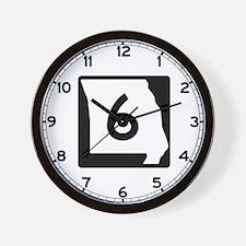 Route 6, Missouri Wall Clock