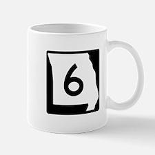 Route 6, Missouri Mug