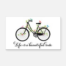 Life is a beautiful ride Rectangle Car Magnet