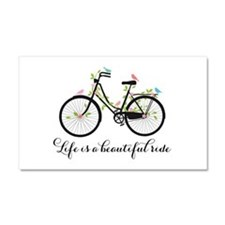 Life is a beautiful ride Car Magnet 20 x 12