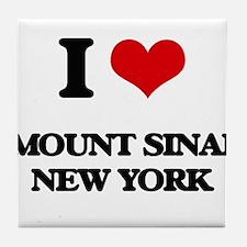 I love Mount Sinai New York Tile Coaster