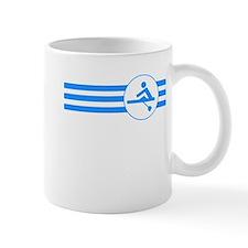 Rower Stripes (Blue) Mugs