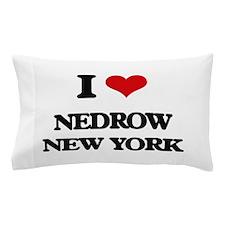 I love Nedrow New York Pillow Case