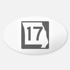 Route 17, Missouri Decal