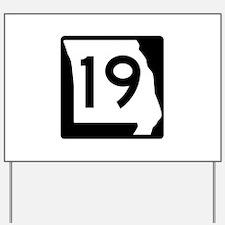 Route 19, Missouri Yard Sign