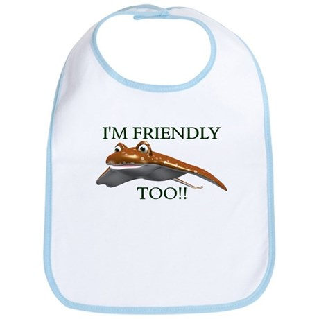 Stingrays are Friendly Bib