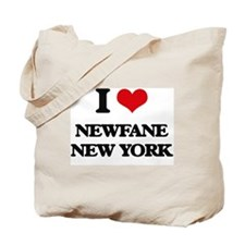 I love Newfane New York Tote Bag