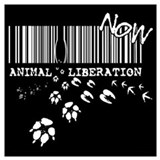 Animal liberation Wrapped Canvas Art