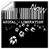 Animal liberation Wall Decals