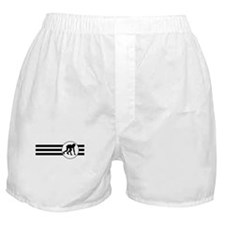 Runner Crouched Stripes Boxer Shorts