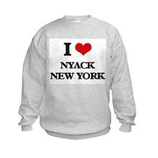 I love Nyack New York Sweatshirt