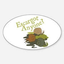 Escargot Anyone? Decal