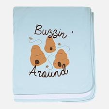 Buzzin' Around baby blanket
