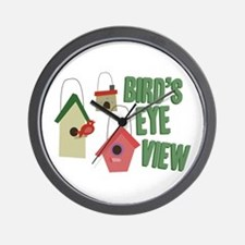 Bird's Eye View Wall Clock