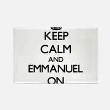 Keep Calm and Emmanuel ON Magnets