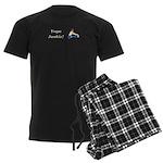 Yoga Junkie Men's Dark Pajamas