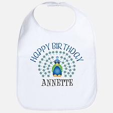 Happy Birthday ANNETTE (peaco Bib