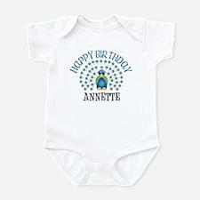 Happy Birthday ANNETTE (peaco Infant Bodysuit