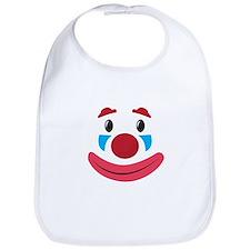 Clown Face Bib