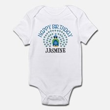 Happy Birthday JASMINE (peaco Infant Bodysuit