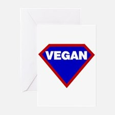 Supervegan Greeting Cards (Pk of 10)