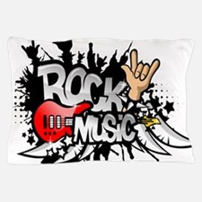 Rock Music Pillow Case