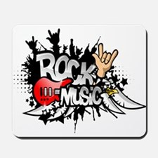 Rock Music Mousepad