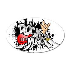 Rock Music Wall Decal