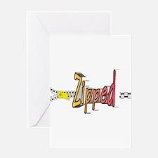 Unique Zipper Greeting Card