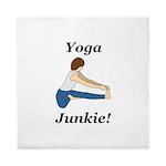 Yoga Junkie Queen Duvet