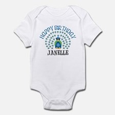 Happy Birthday JANELLE (peaco Onesie