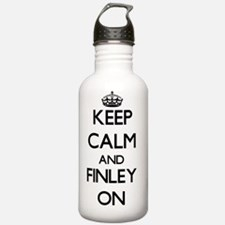Keep Calm and Finley O Water Bottle