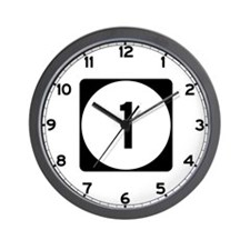 Highway 1, Mississippi Wall Clock