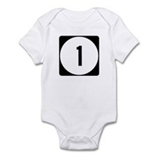 Highway 1, Mississippi Infant Bodysuit