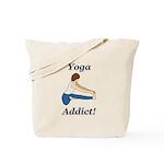 Yoga Addict Tote Bag