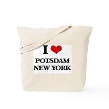 I love Potsdam New York Tote Bag