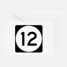 Highway 12, Mississippi Greeting Cards (Pk of 10)