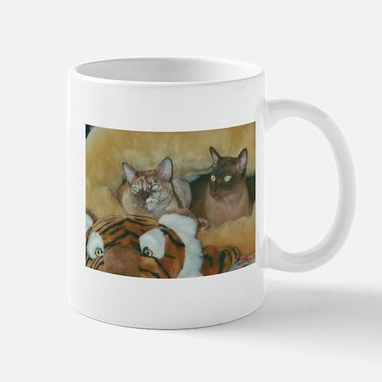 Burmese Cats Mugs
