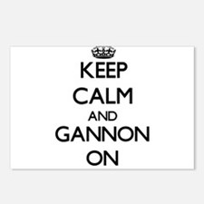 Keep Calm and Gannon ON Postcards (Package of 8)