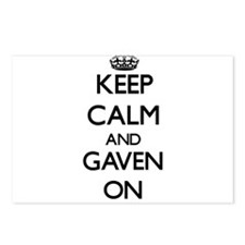 Keep Calm and Gaven ON Postcards (Package of 8)